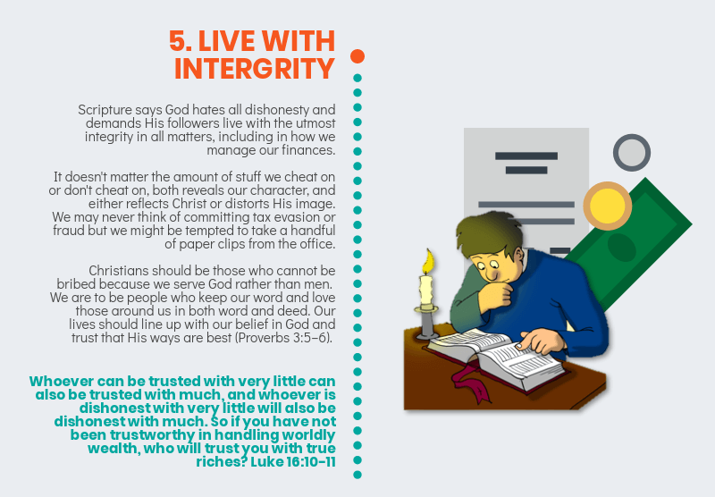 7 Ways You Can Become A Good Financial Steward - Live with integrity