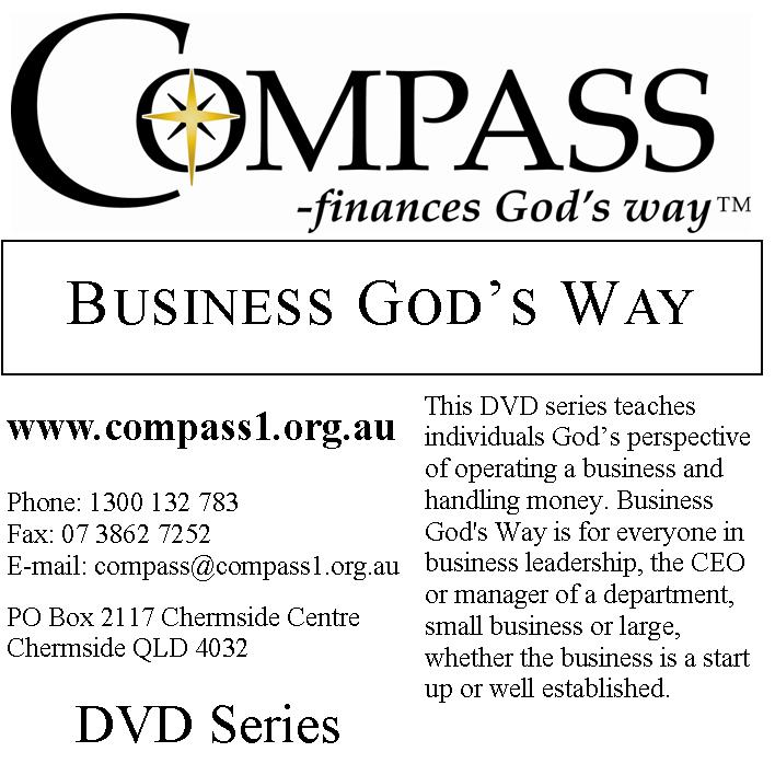 Business God's Way DVD Series - Facilitator