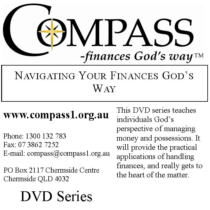 Navigating Your Fiannaces God's Way DVD Series - Compass - finances God's way