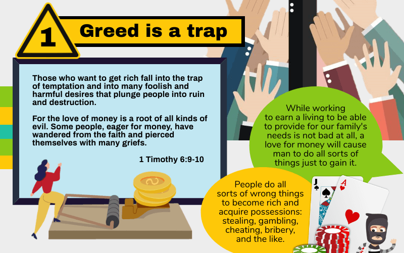 Greed is a trap