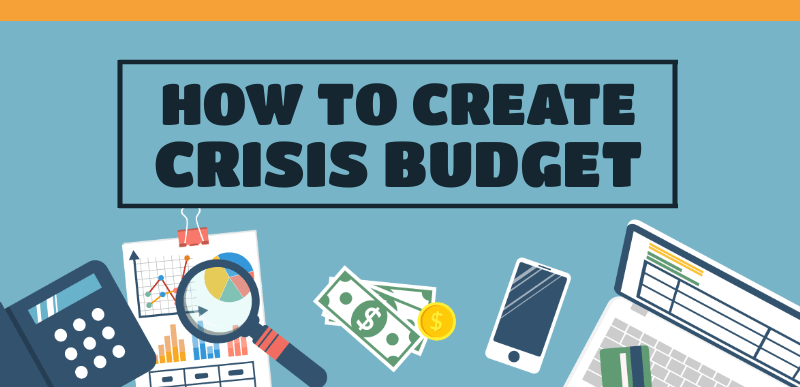 How to create a crisis budget (Infographic)