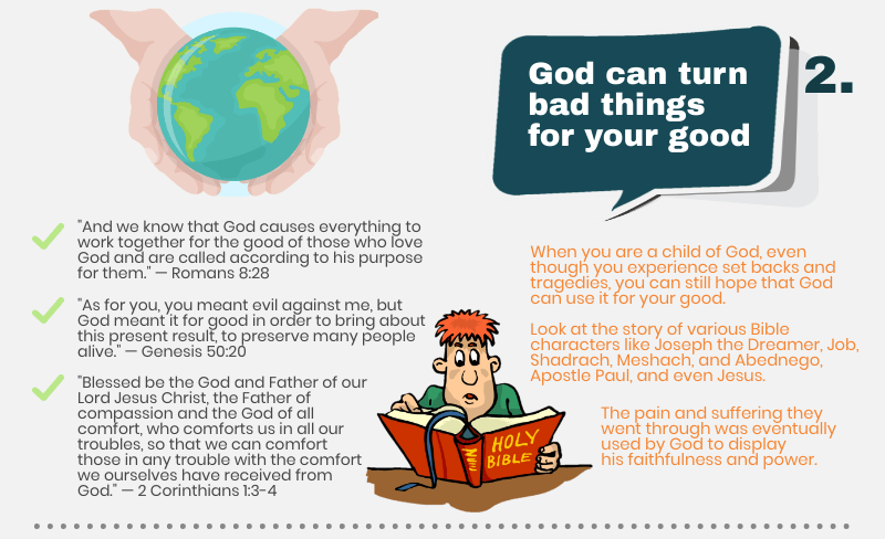 God can turn bad things for your good